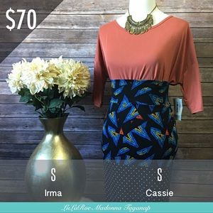 Irma Top and Cassie Pencil Skirt Outfit